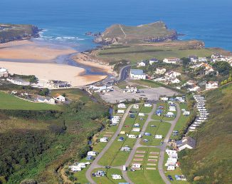 porth beach touring and camping