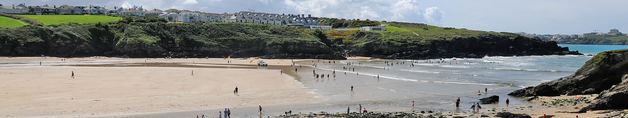 Porth Beach near Newquay Cornwall