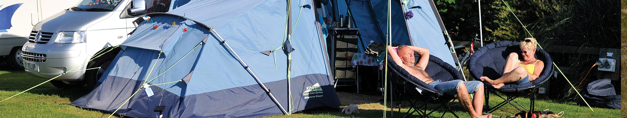 Touring and camping in Newquay