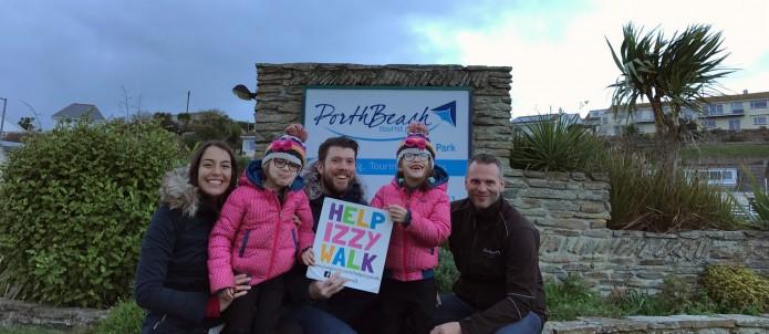 Porth Beach Help Izzy Walk